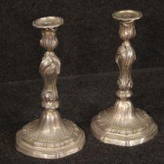 Portacandele oggetti stile antico epoca 900