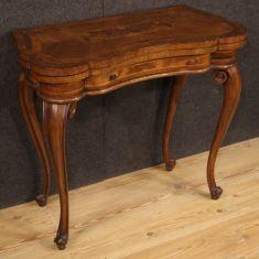 Mobile in legno tavolino stile antico