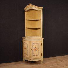 Credenza mobile libreria in legno stile antico