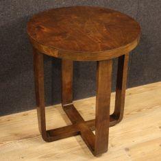 Tavolo basso mobile in legno da salotto stile antico 900