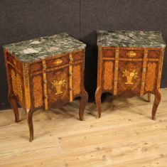 Tavolini mobili in legno stile antico camera 900