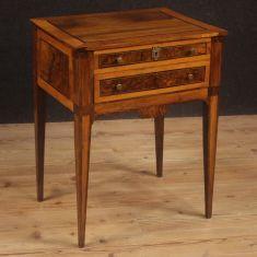 Mobile tavolo comodino epoca 800 da salotto