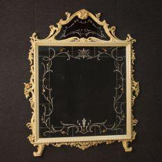 Specchio cornice in legno stile antico 900