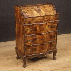 Secrétaire in legno comò scrittoio stile antico 900